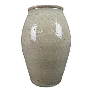 Antique Chinese Song Dynasty Earthenware Glazed Vase For Sale