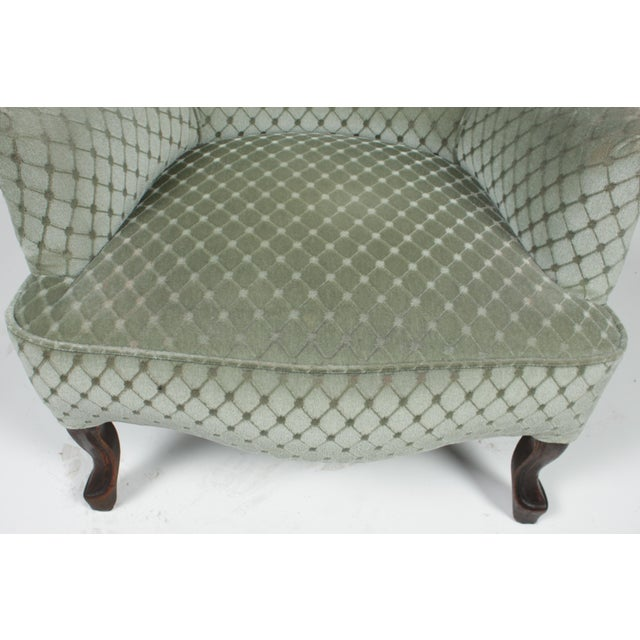 Late 19th Century 1890s Victorian Ladies Slipper Chair For Sale - Image 5 of 8