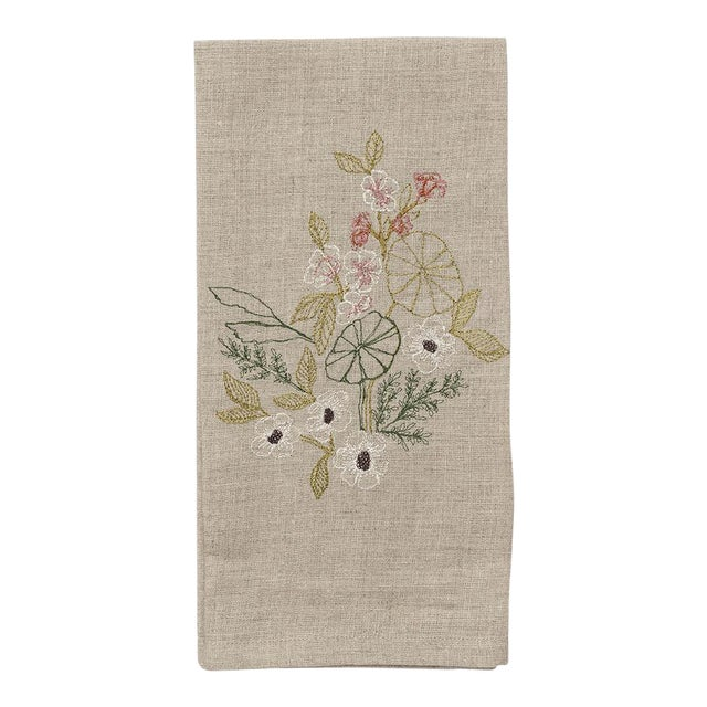 Meadow Blossoms Tea Towel - Image 1 of 5