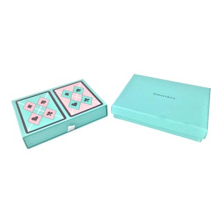 Tiffany Boxed Set Playing Cards For Sale
