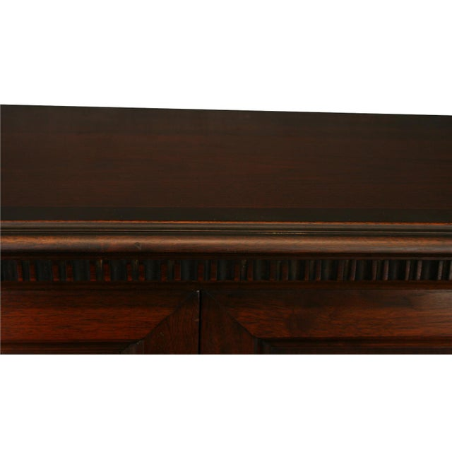 Antique 1900s Mahogany Cabinet - Image 8 of 8