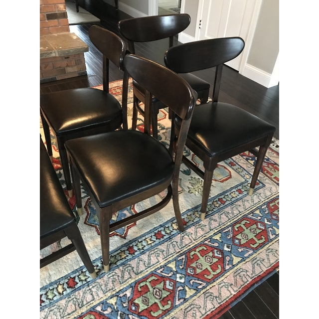 Vintage Mid-Century Modern Dining Chairs - Set of 8 - Image 3 of 9