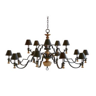 French 70's Chandelier For Sale
