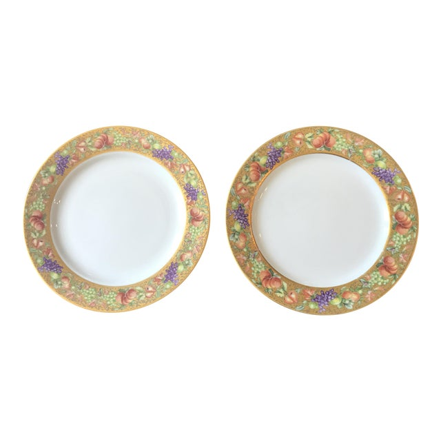 Limoges Ancienne Manufacture Royale 'Botticelli ' Plates - a Pair For Sale