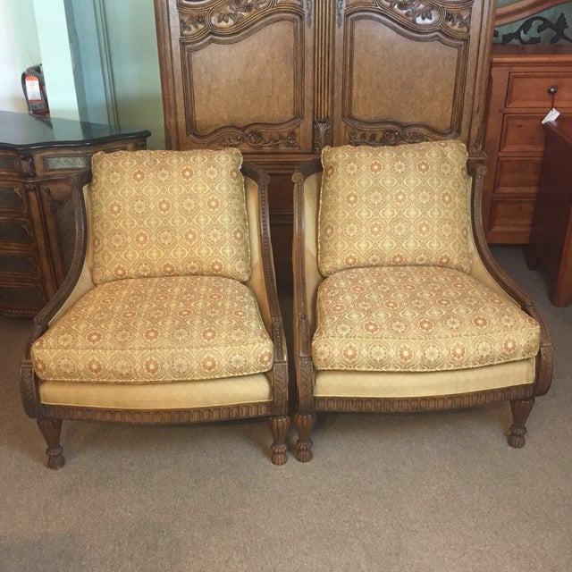 Pair of Century Occasional Chairs - Image 2 of 11