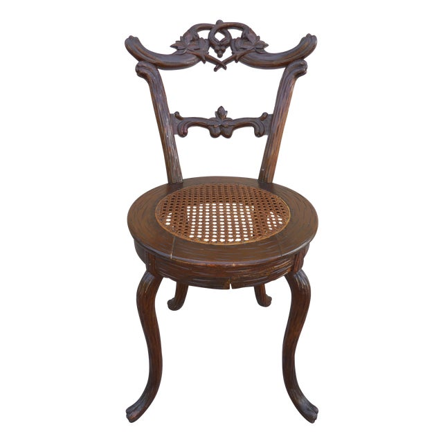 Black Forest Child's Chair For Sale