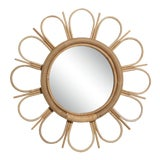 Image of Curated Kravet Ramona Mirror - Natural For Sale