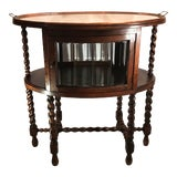 Image of Vintage English Tea Tray Table For Sale