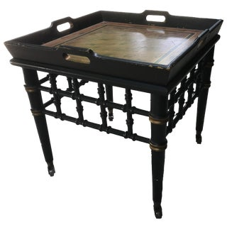 Vintage Drexel Shabby Chic Side Table
