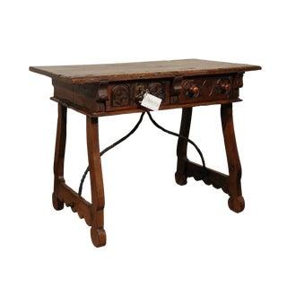 17th Century Walnut Spanish Table
