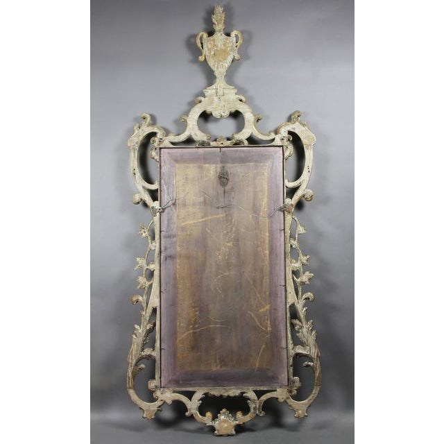 Chippendale George III Giltwood Mirror For Sale - Image 3 of 7