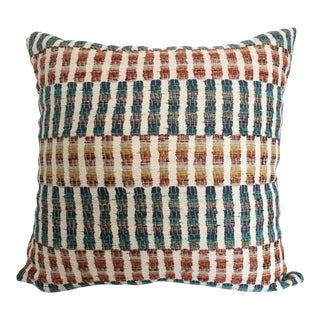 Turkish Kilim Rug Style Pillow Cover For Sale