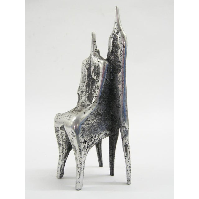 Aluminum sculpture by Aharon Bezalel For Sale In Chicago - Image 6 of 8