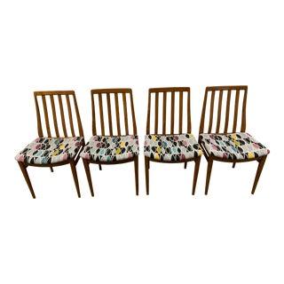 Danish Modern Teak Chairs - Set of 4 For Sale