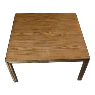 1970s McGuire Square Coffee Table For Sale