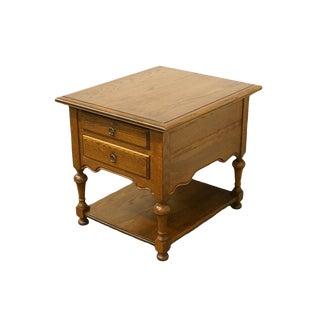 "Ethan Allen Royal Charter Oak 22"" End Table 16-8006 For Sale"
