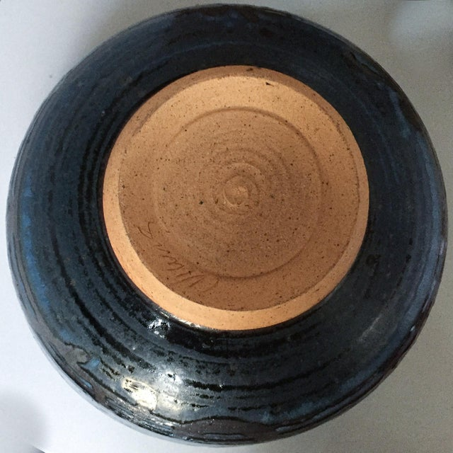 Signed Gerry Williams Mid-Century Stoneware Bowl - Image 5 of 5