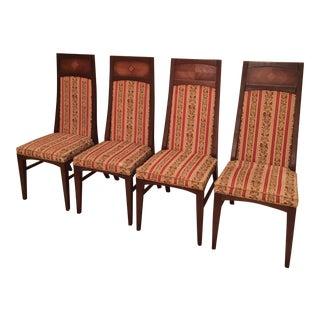 Michael Van Beuren Dining Chairs- Set of 4 For Sale
