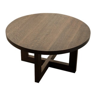 Transitional Orchard Coffee Table in Red Oak For Sale