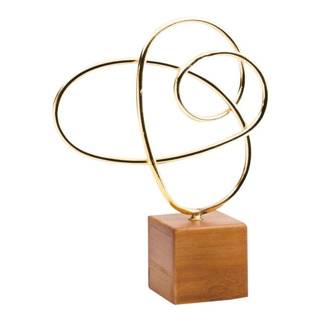 Metal Modern Art Sculpture - Image 1 of 4