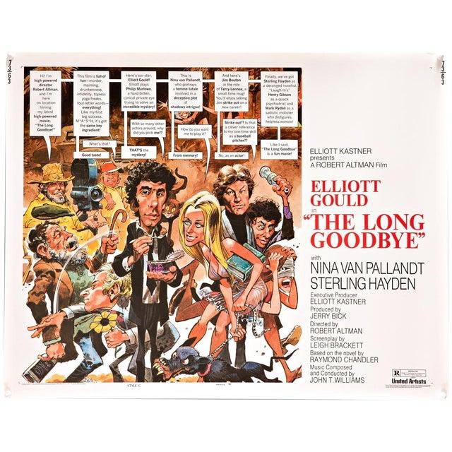 "1973 Robert Altman ""Long Goodbye"" Film Poster For Sale"