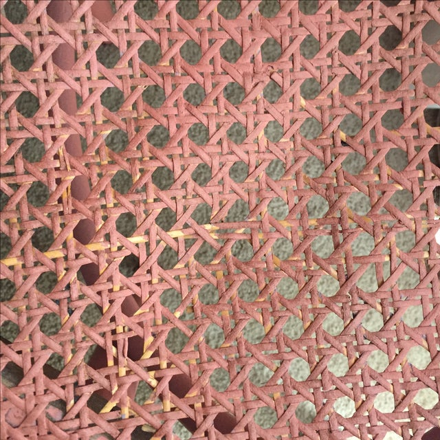 Pink Thonet-Style Cafe Chair - Image 6 of 7