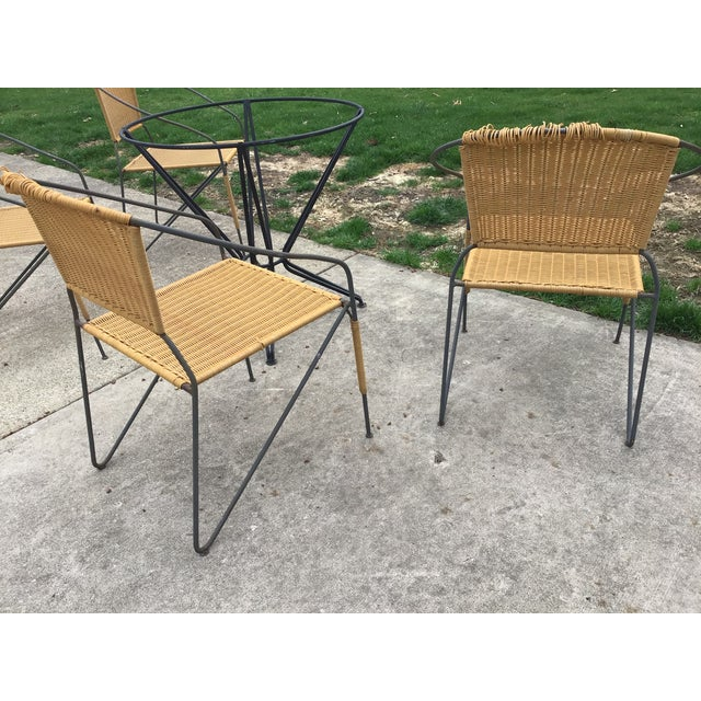 Maurizio Tempestini by Salterini Patio Table Chairs Dining Patio Last Call For Sale - Image 11 of 13