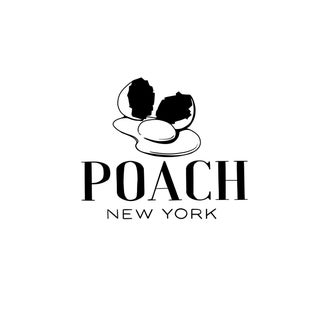 """""""Poach Rhymes With Coach"""" Contemporary Minimalist Word Art Print For Sale"""