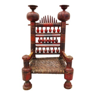 Antique Indian Chair