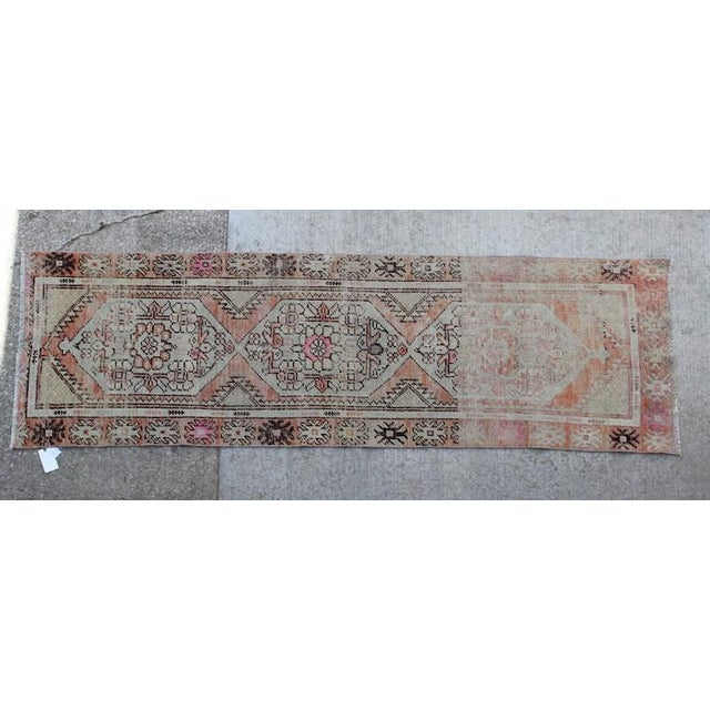 Islamic Vintage Turkish Runner - 3″ × 8″ For Sale - Image 3 of 3