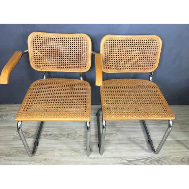 Italian Marcel Breuer Style Chairs - Set of 4 - Image 5 of 7
