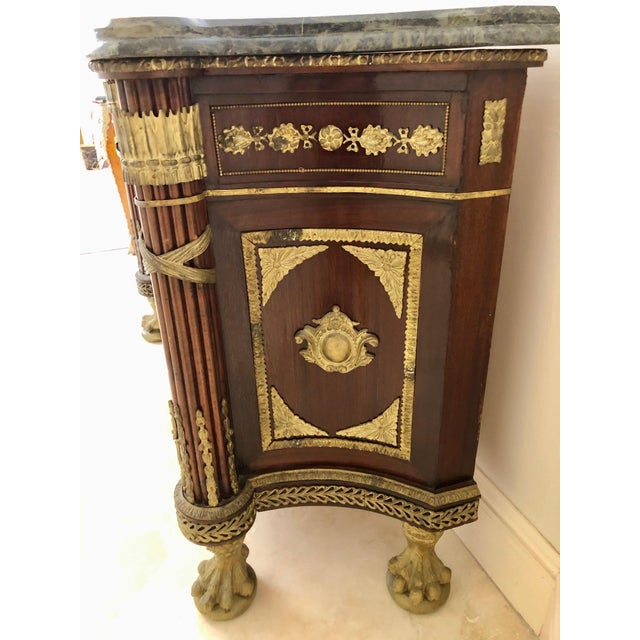 Brown French Revolution Louis XVI Sideboard For Sale - Image 8 of 12