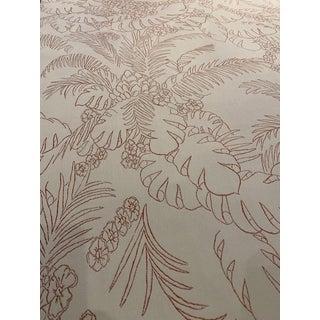 "Brunschwig & Fils ""Captiva"" Indoor / Outdoor Tropical Woven Fabric - 11 Yards For Sale"