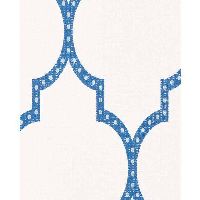 Algier's is an exotic, two-color fretwork design that is printed on a bright white paperweave ground. Also available on...