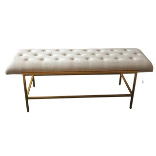 Century Furniture Modern Leg Bench