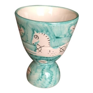 1950s Societa Ceramica Italiana Egg Cup For Sale