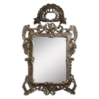 Silver Gilt Framed Wall Mirror