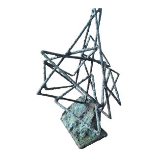 John Barandon Triangular Sculpture For Sale