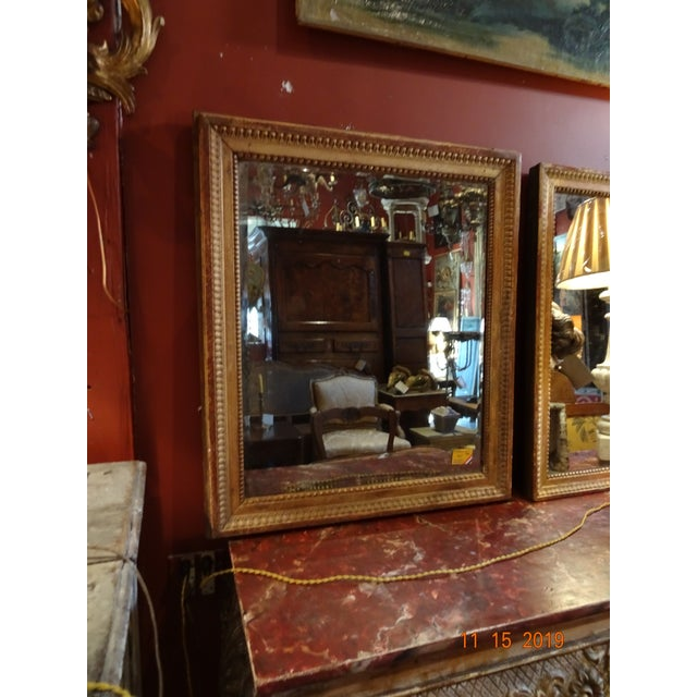 Wood 19th Century French Mirror For Sale - Image 7 of 10