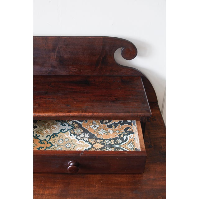 Wood 19th Century Empire Dresser With Paper Lined Drawers For Sale - Image 7 of 9