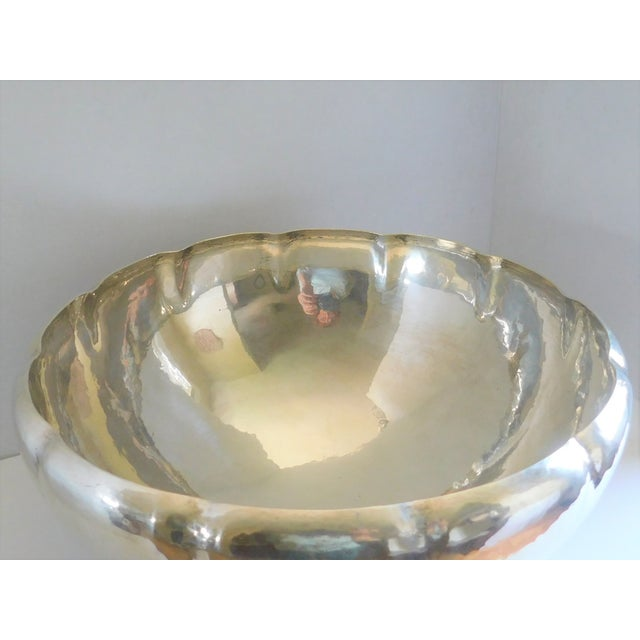 Gorham Mid-Century Gorham Sterling Punch Bowl For Sale - Image 4 of 8