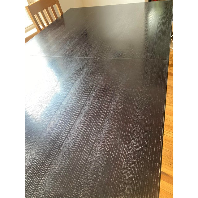 """Crate and Barrel """"Portland"""" Dining Table For Sale In Boston - Image 6 of 8"""