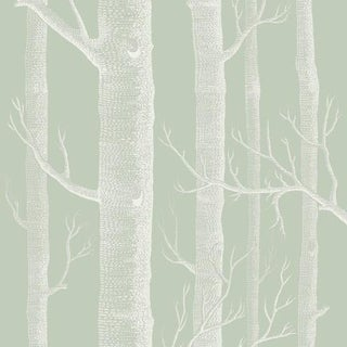 Cole & Son Woods Wallpaper Roll - Old Olive For Sale