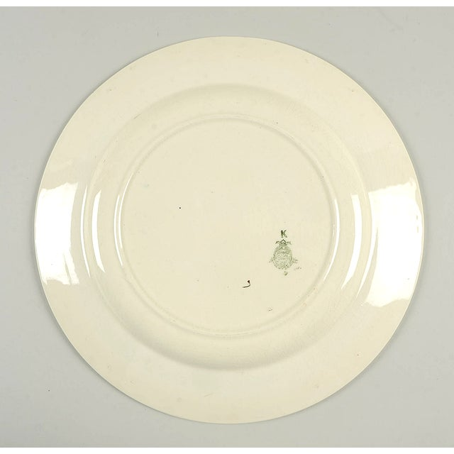 """Crown Ducal Crown Ducal Indian Tree 12"""" Round Platter For Sale - Image 4 of 6"""