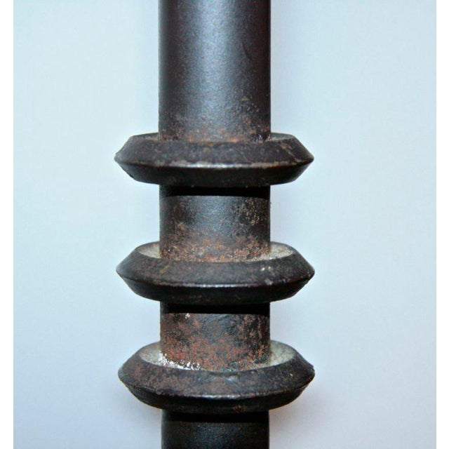 1930s French Iron Floor Lamp For Sale - Image 5 of 8