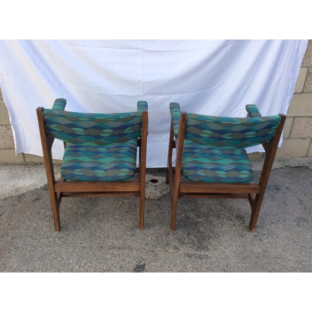 Mid-Century Modern 1960s Mid-Century Chairs - a Pair For Sale - Image 3 of 8