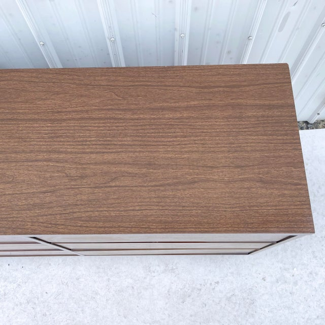1970s Mid-Century Modern Six Drawer Dresser For Sale - Image 5 of 13