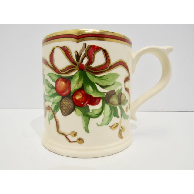 Christmas Mugs by Tiffany & Co - A Pair For Sale - Image 12 of 13