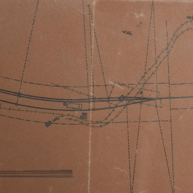 1940s Art Architectural Sketch by Mario Pani and Jesus Garcia Collantes 1947 For Sale - Image 5 of 11
