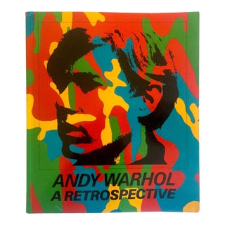 """ Andy Warhol a Retrospective "" Rare 1st Edtn 1989 Moma Exhibition Iconic Collector's Book For Sale"